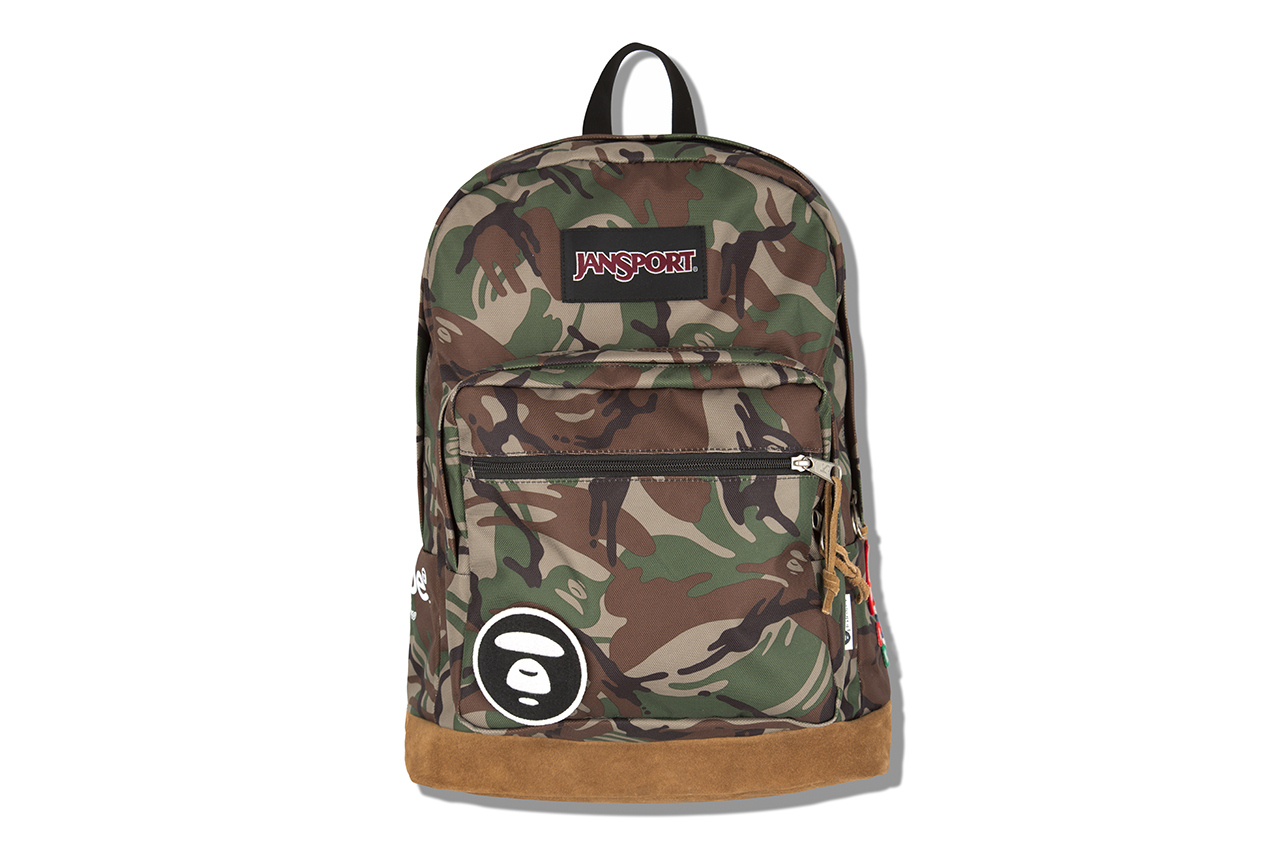 aape by a bathing ape x jansport 2013 capsule collection 2 AAPE by A Bathing Ape x Jansport Backpack