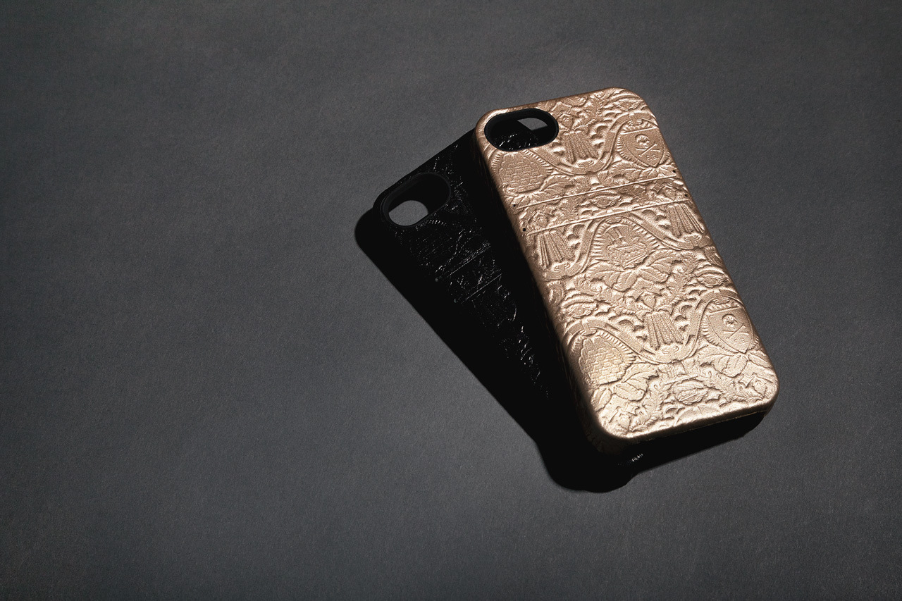 hex 1 HEX x Fools Gold Leather Solo iPhone Wallet