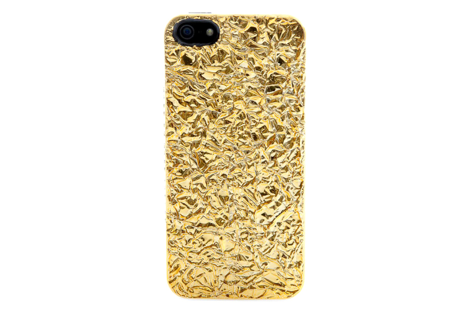 marc by marc jacobs golden foil covered iphone 5 case the golden ticket 1 Marc by Marc Jacobs The Golden Ticket iPhone Case