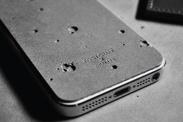 Luna Concrete iPhone 5 Case 01 Luna Concrete iPhone 5 Cover