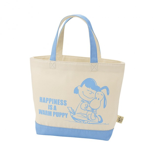 snoopy tote 5 630x630 Uniqlo Snoopy & Peanuts Tote Bag Collection