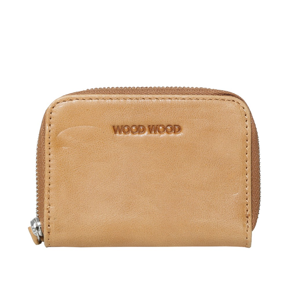 12 09 2013 woodwood wallet tan1 Wood Wood Leather Zip Card Wallet