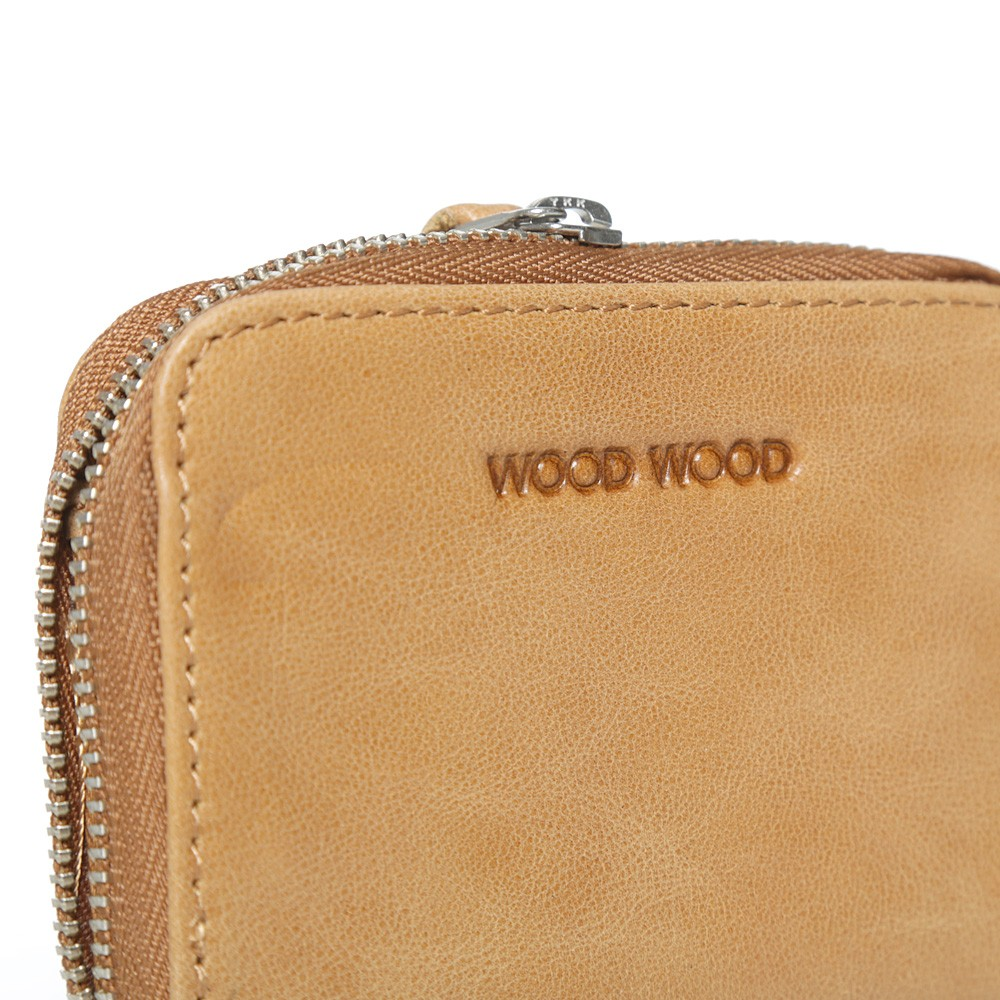 12 09 2013 woodwood wallet tan3 Wood Wood Leather Zip Card Wallet
