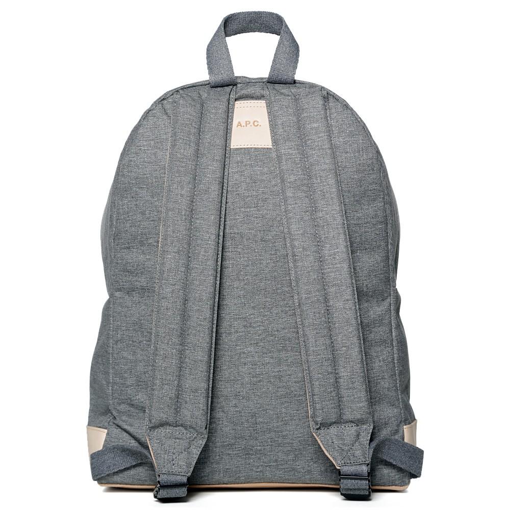 16 09 2013 apcxeastpak classicbackpack grey 2 A.P.C. x Eastpak Classic Backpack