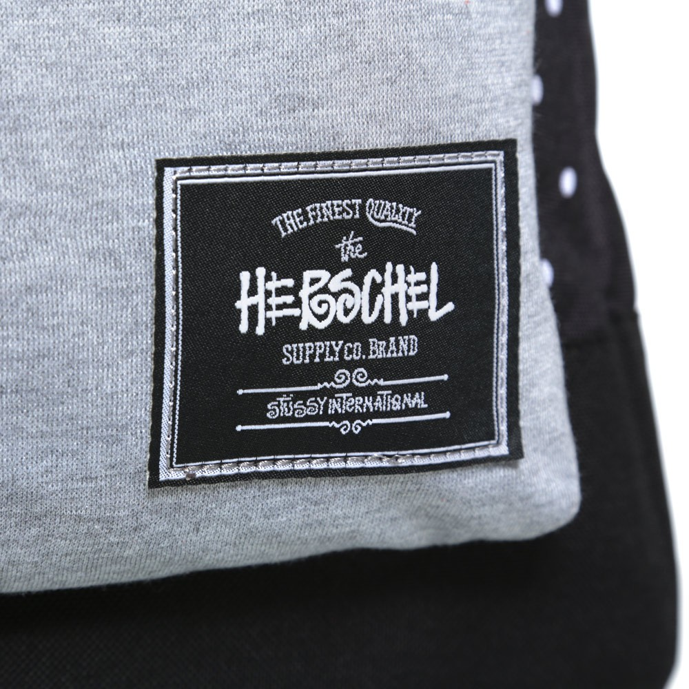 16 09 2013 stussyherschelsupplyco settlementdotbackpack black d4 Stussy x Herschel Supply Co. Settlement Dot Back Pack