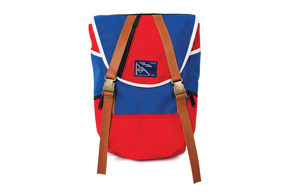 "commune de paris x peters mountain works 2013 fallwinter ohayo 1871 backpack 1 Commune de Paris x Peters Mountain Works 2013 Fall/Winter ""Ohayo 1871″ Backpack"