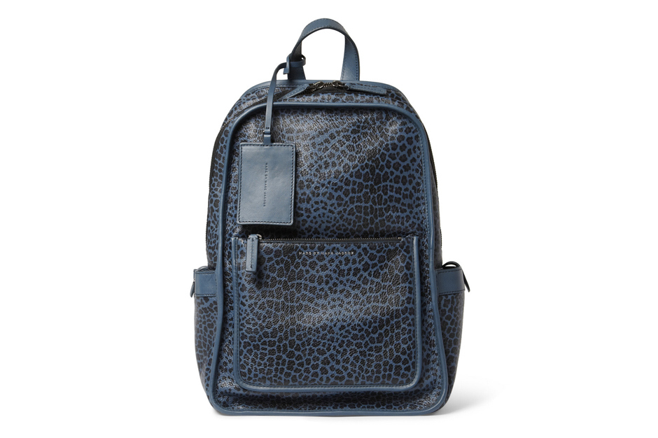 marc by marc jacobs leopard print leather backpack 1 Marc by Marc Jacobs Leopard Print Leather Backpack
