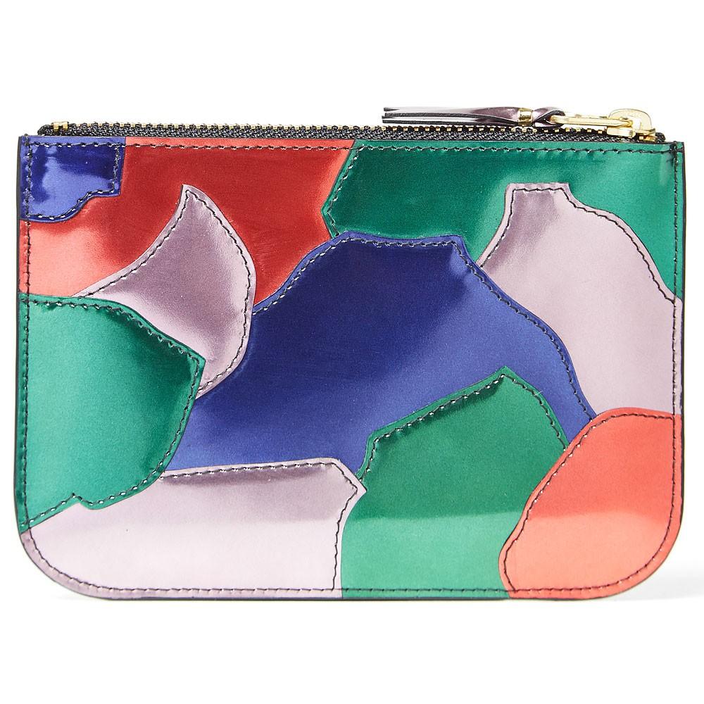 20 11 2013 cdg sa8100pm patchwork pink 2 Comme des Garcons SA8100PM Patchwork Metal Wallet