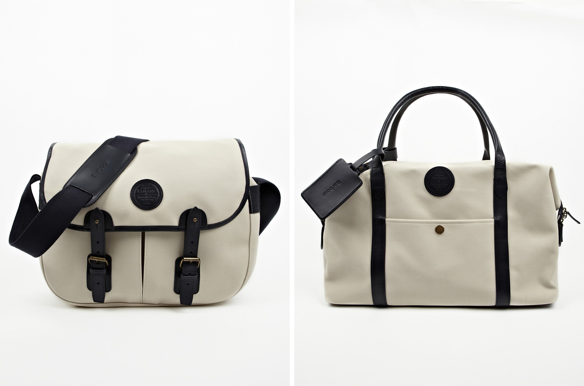 Barbour Norton sons accessories Fall 2013 3 Barbour for Norton & Sons Messenger and Tote Bags