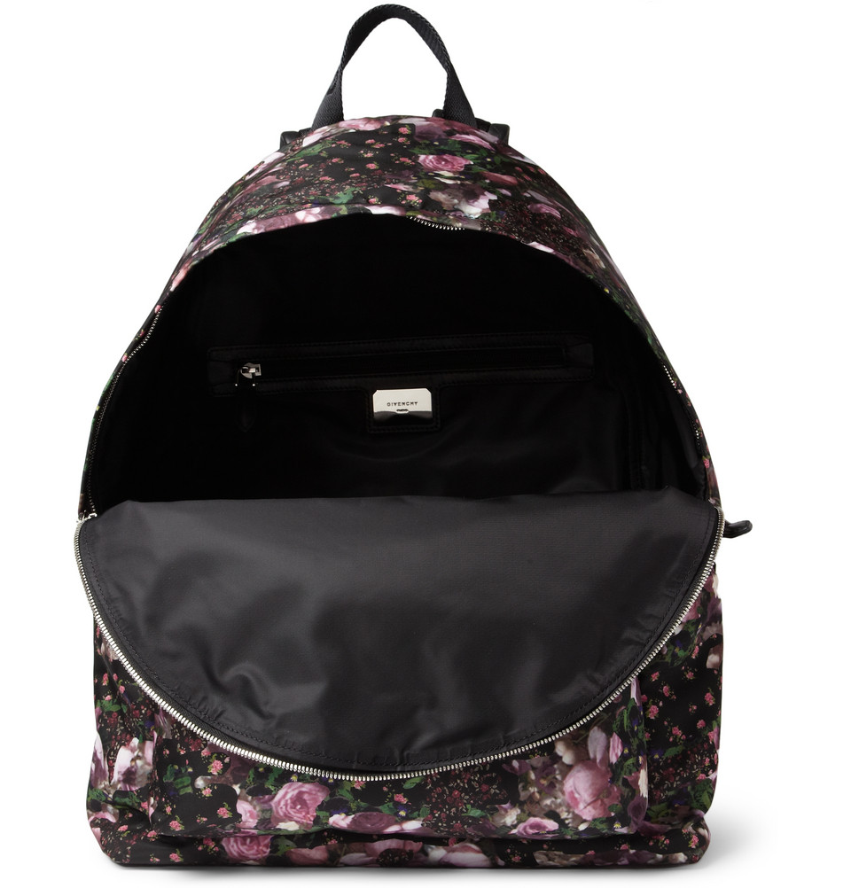 400116 mrp e1 xl1 Givenchy Floral Print Backpack