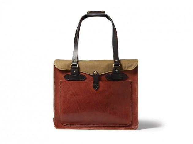 filson horween 2013 01 630x472 Filson Cognac Horween Leather Bags