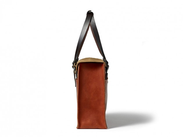 filson horween 2013 02 630x472 Filson Cognac Horween Leather Bags