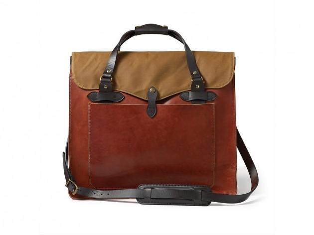 filson horween 2013 04 630x472 Filson Cognac Horween Leather Bags