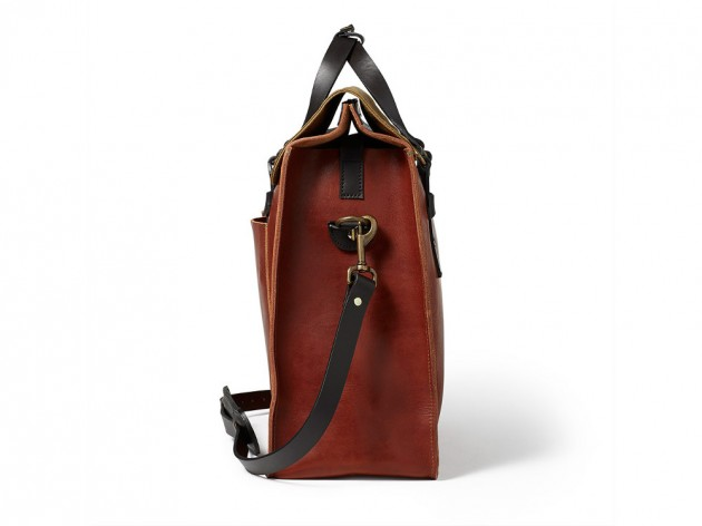 filson horween 2013 05 630x472 Filson Cognac Horween Leather Bags