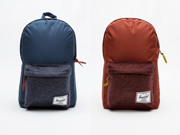 harschel knitted woodside backpacks 01 630x472 Herschel Supply Co. Knitted Woodside Backpacks