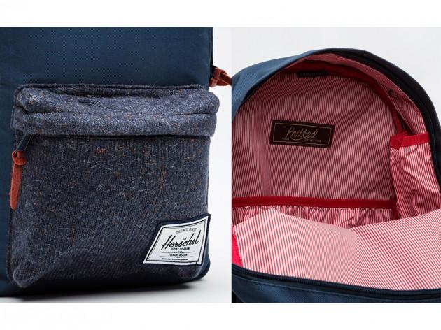 harschel knitted woodside backpacks 02 630x472 Herschel Supply Co. Knitted Woodside Backpacks