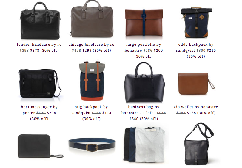 Picture 2 Roztayger 2014 Sale: 30 60% Off Carry Goods & Accessories