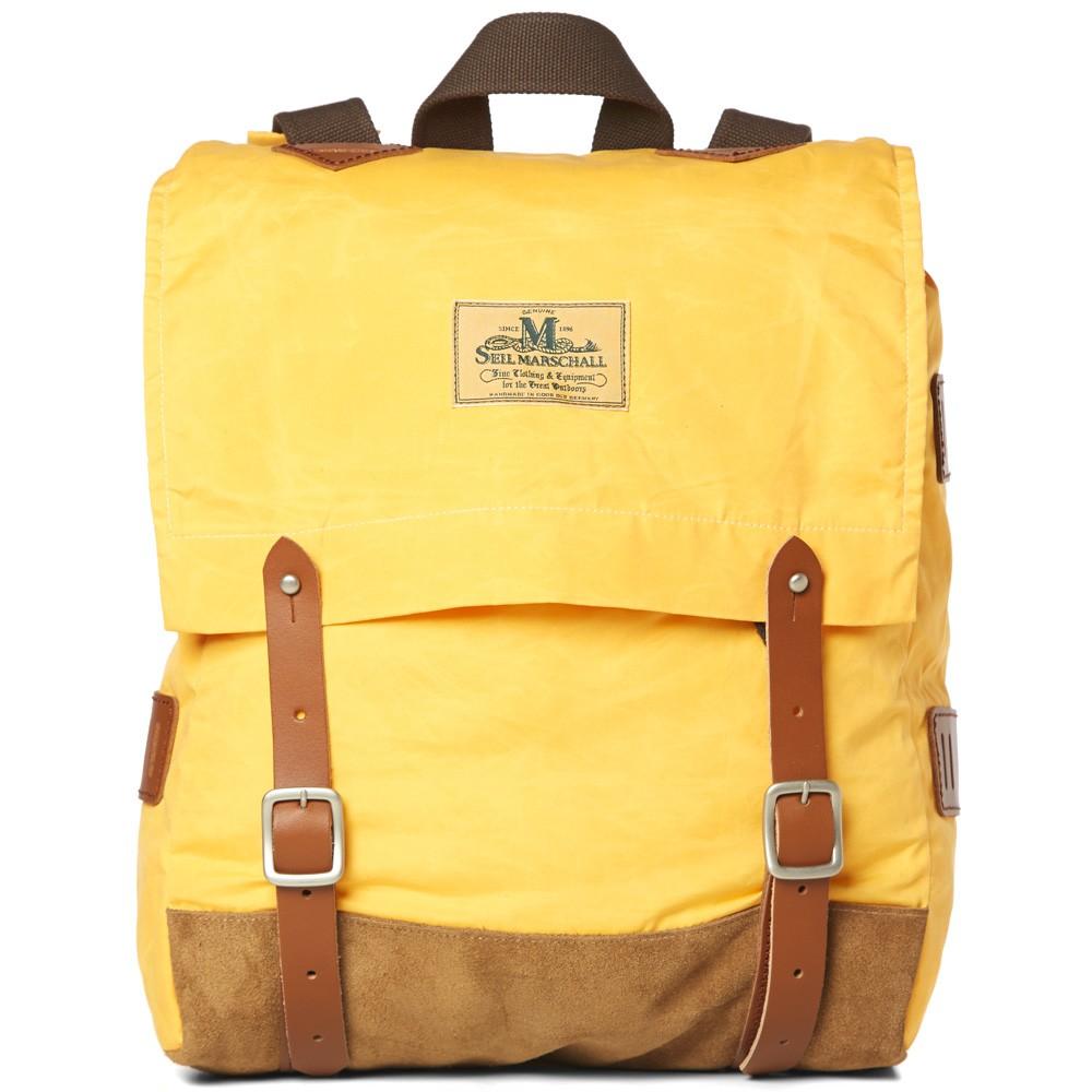 19 02 2014 junyawatanabe seilmarschall waxeddaypack yellow Junya Watanabe MAN x Seil Marschall Waxed Canvas Day Pack