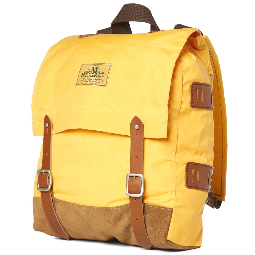19 02 2014 junyawatanabe seilmarschall waxeddaypack yellow d1 Junya Watanabe MAN x Seil Marschall Waxed Canvas Day Pack