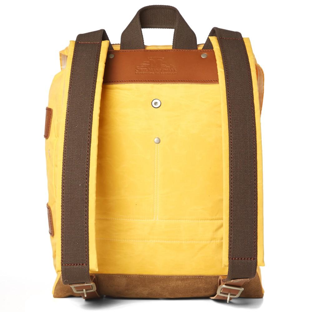 19 02 2014 junyawatanabe seilmarschall waxeddaypack yellow d2 Junya Watanabe MAN x Seil Marschall Waxed Canvas Day Pack
