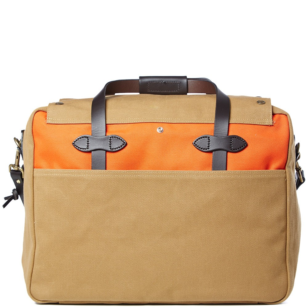 22 02 2014 filson largetravel tanorange 3 Filson Large Travel Bag
