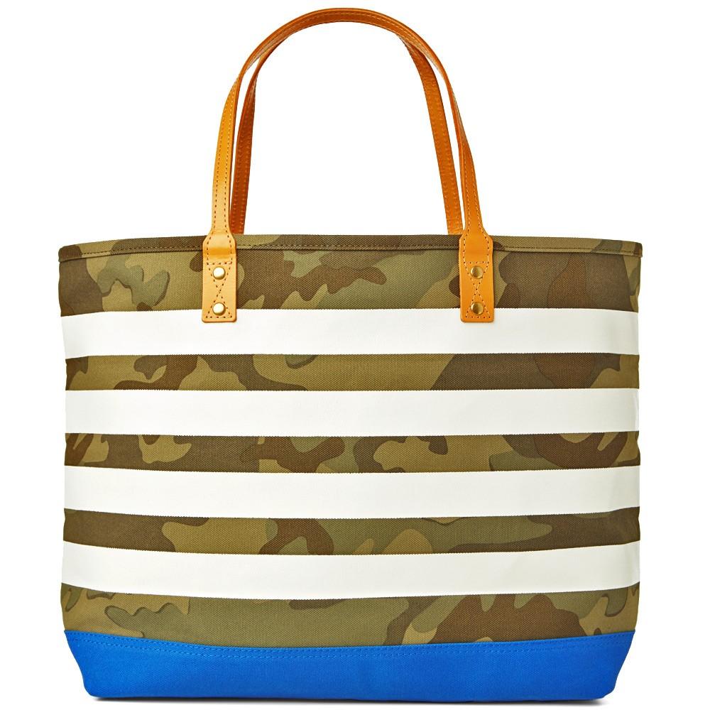 31 03 2014 sophnet camouflagebordertote blue 1 Sophnet. Camouflage Border Tote Bag