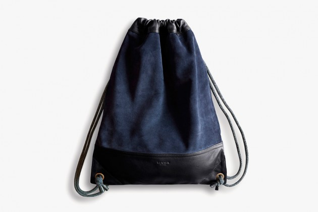 Henten Bags 01 630x420 Henten Leather Drawstring Bags