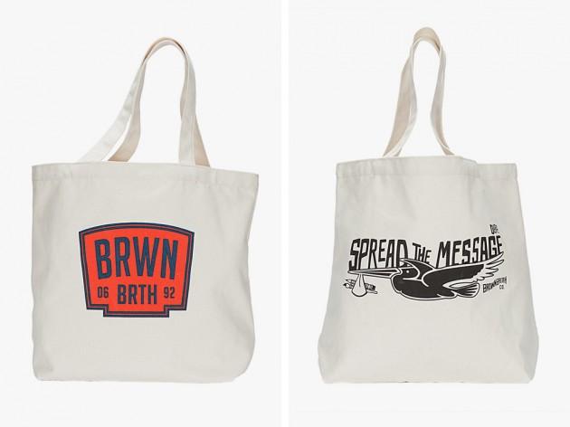 brownbreath ss2014 symbiosis totes 03 630x472 Brownbreath Symbiosis Canvas Tote Bags