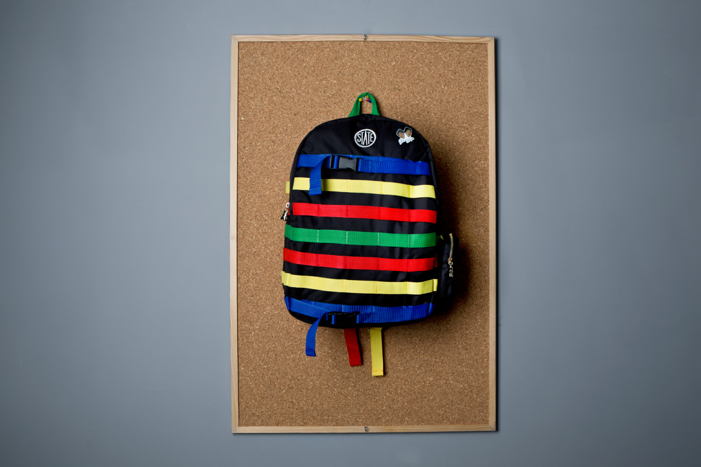 dee and ricky 2014 spring summer backpacks and lego pins 3 State Bags x Dee & Ricky Summer 2014 Backpack Collection