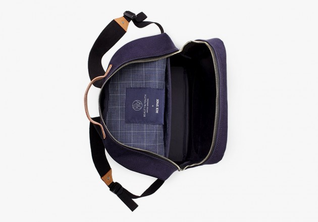 Jack Spade Beauty Youth Bags 2014 2 630x441 Jack Spade for United Arrows Beauty & Youth Limited Edition Backpack & Tote