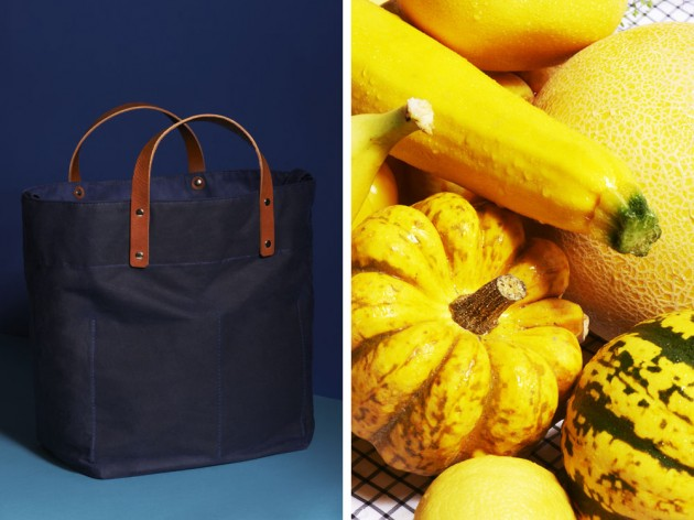 The Gourmand Capellino 01 630x472 Ally Capellino Market Bag for Gourmand Magazine
